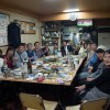 久留米で福岡地区の忘年会です。